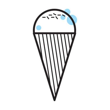 ice cream cone Çizim