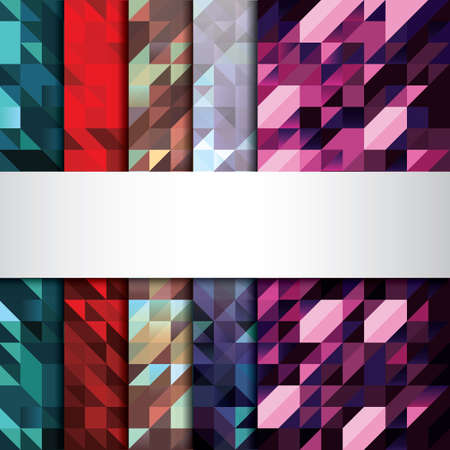faceted: Set of faceted backgrounds