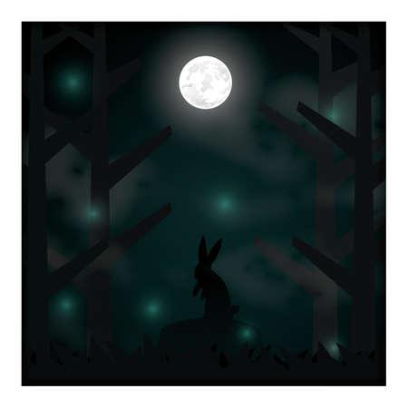 night background  イラスト・ベクター素材