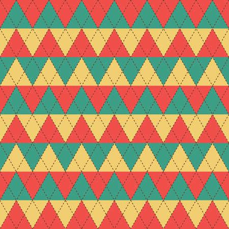 seamless rhombus background Illustration