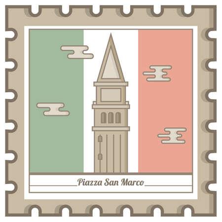 피아자 산 마르코 우편 우표