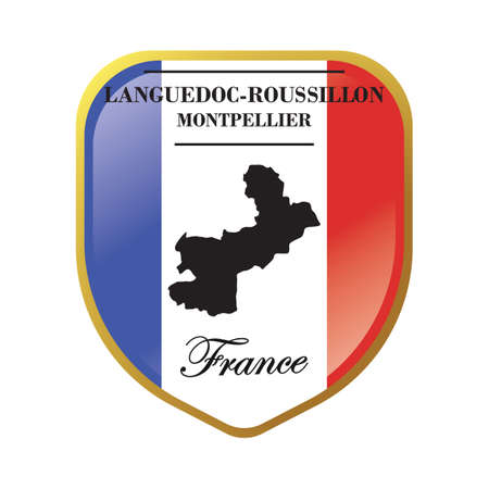Languedoc-roussillon map label