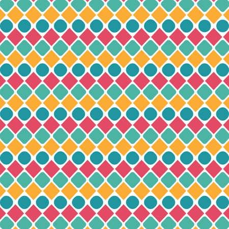 seamless geometric background Ilustrace
