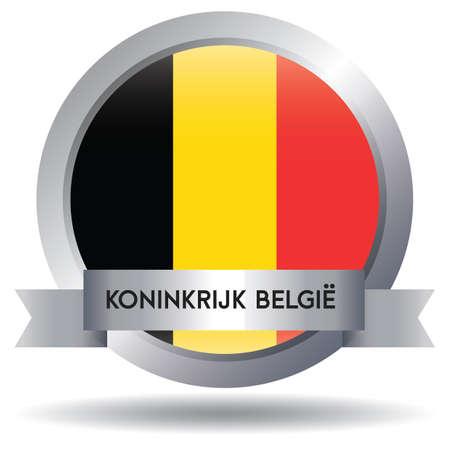 belgium flag Banque d'images - 106669482