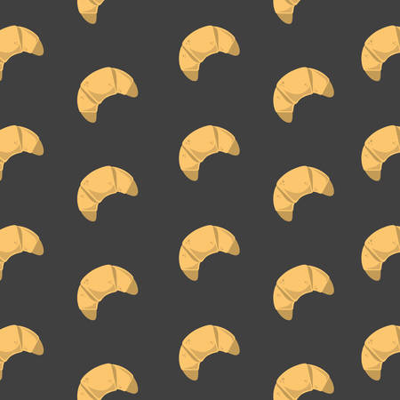 background with croissant