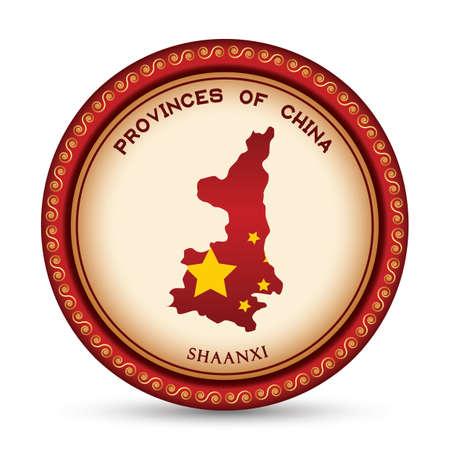 shannxi map