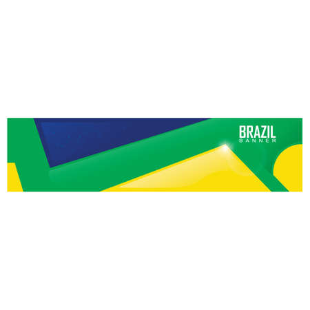 brazil banner Banco de Imagens - 106669526