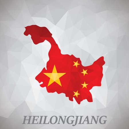 heilongjiang map