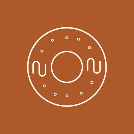 doughnut Reklamní fotografie - 106669564