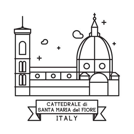 や・ ディ ・ サンタ・マリア ・ デル ・ フィオーレ大聖堂 写真素材 - 81601294