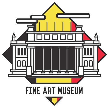 fine art museum Banco de Imagens - 106669566