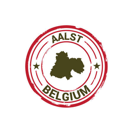 aalst map stamp