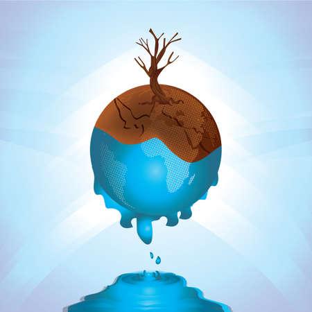 地球温暖化概念