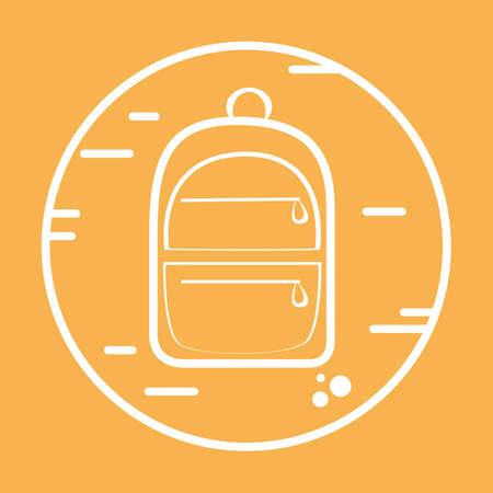 backpack Illusztráció