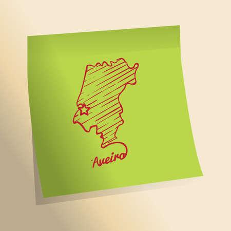 Aveiro kaart