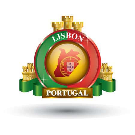 リスボン地図