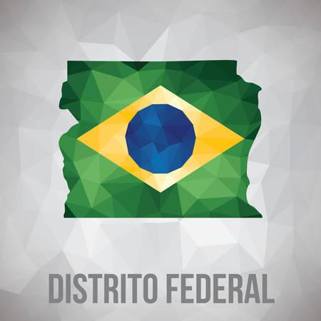 distrito federal state map