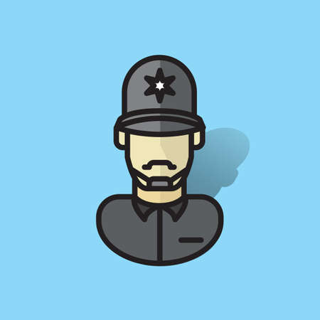 policeman Illustration