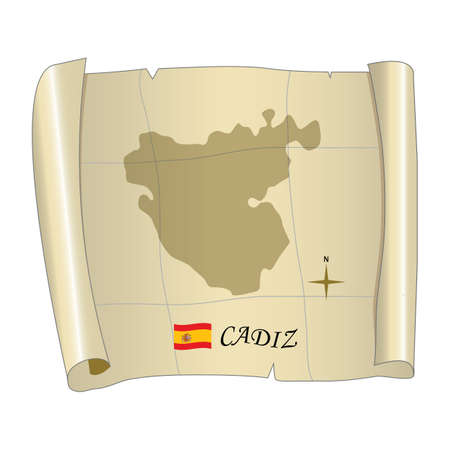 cadiz map