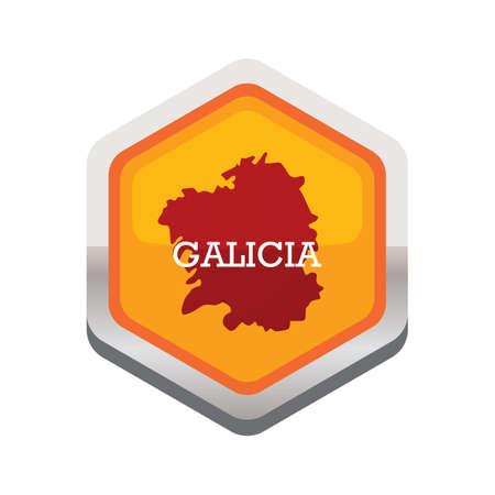 Galicië kaart