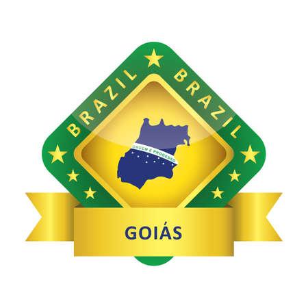 goias state map
