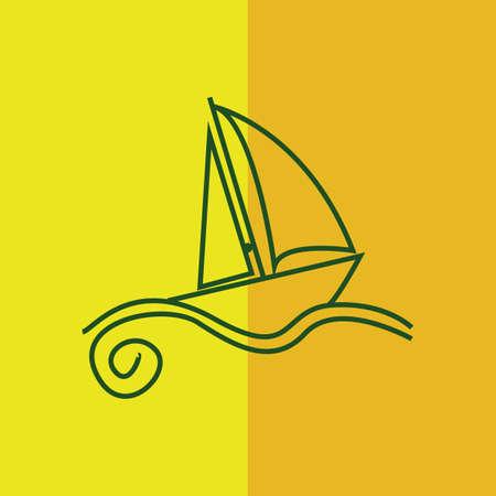 boat Иллюстрация