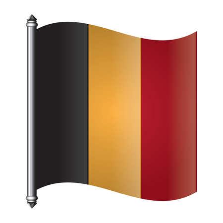 ベルギーの旗ペナント