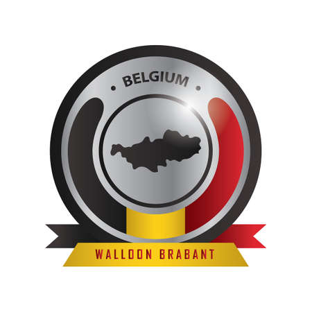walloon brabant map label