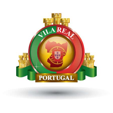 vila real map