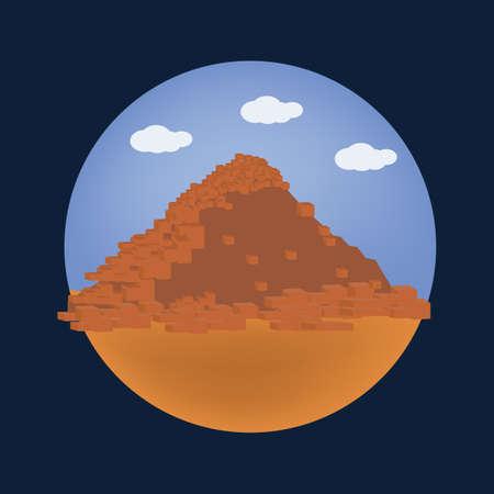 sahure のピラミッド