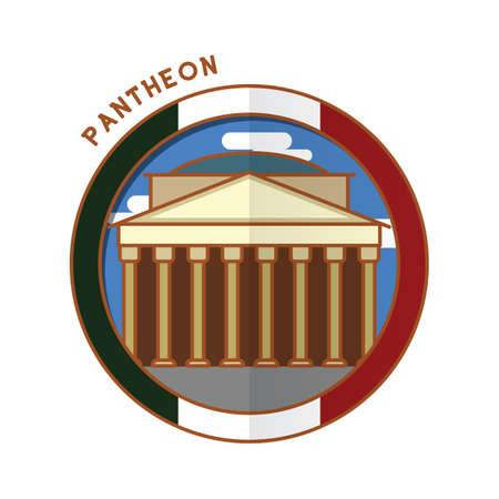 Pantheon Illustration