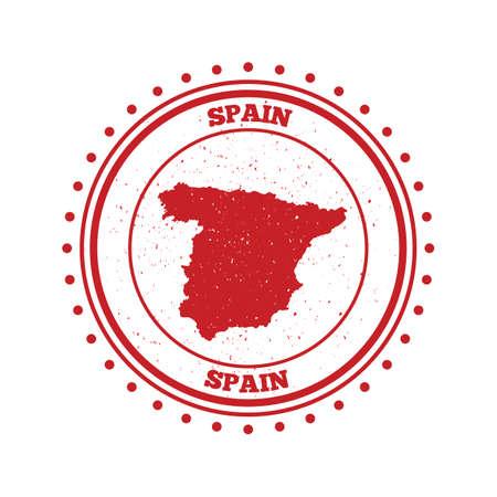 spain map: spain map label