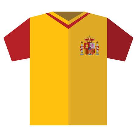 sports jersey: spain jersey