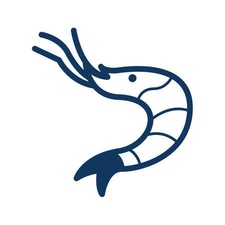 cephalopod: shrimp Illustration