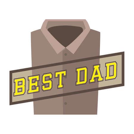 the best: best dad Illustration