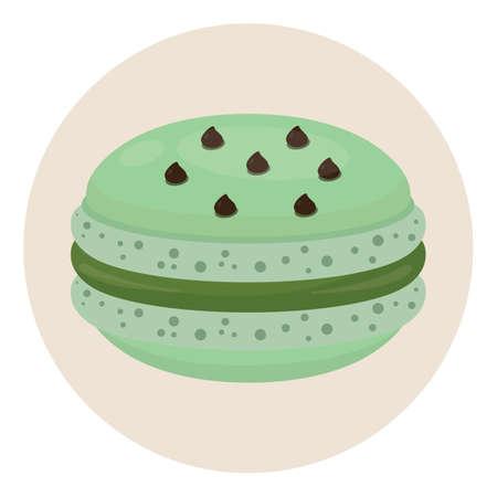 macaron: macaron Illustration