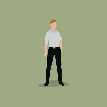hand in pocket: man with hand in pocket