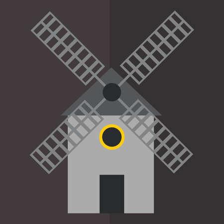 generators: windmill Illustration