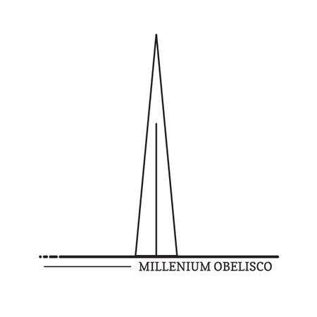 obelisco: millenium obelisco
