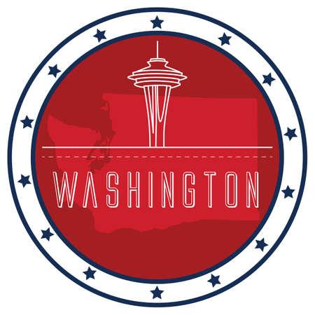 unites: washington sticker
