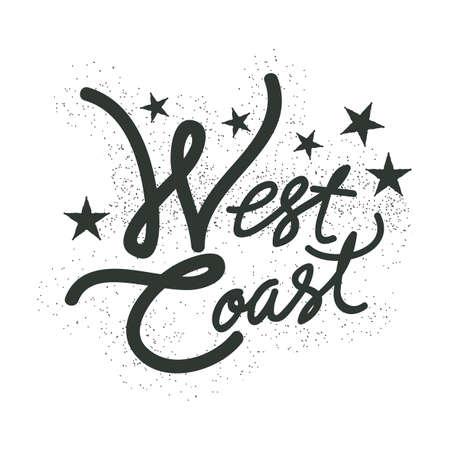 west  coast: west coast typography