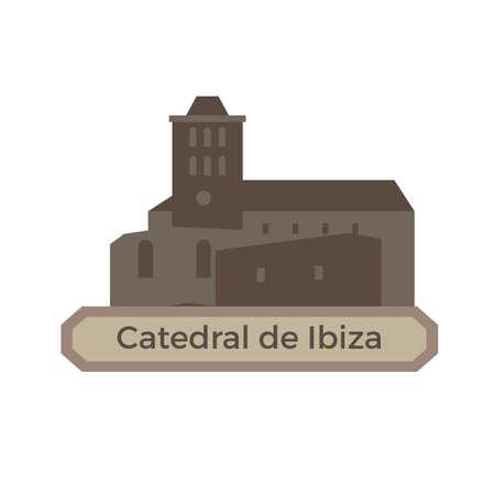 ibiza: catedral de ibiza