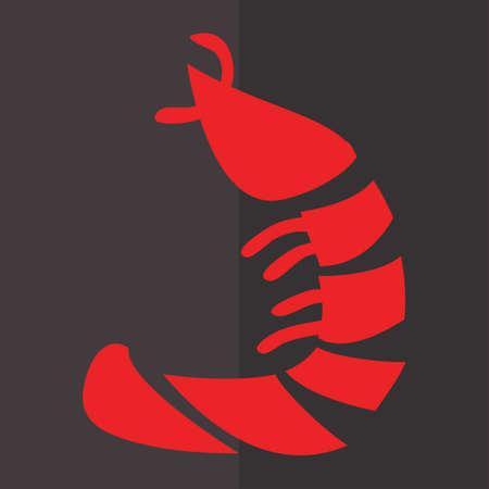 prawn: shrimp Illustration