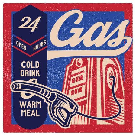 oldies: gas station wallpaper