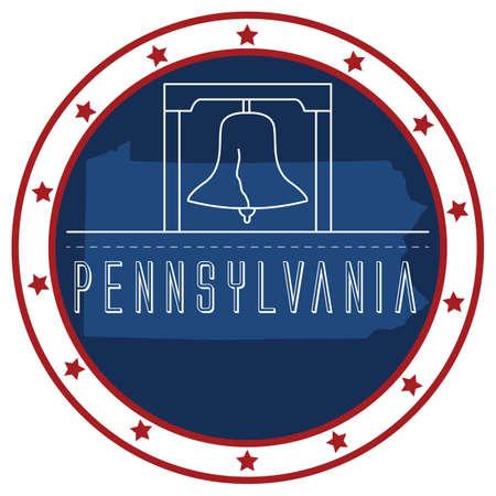 pennsylvania: pennsylvania sticker
