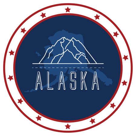 alaska: alaska sticker