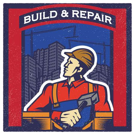 build and repair wallpaper