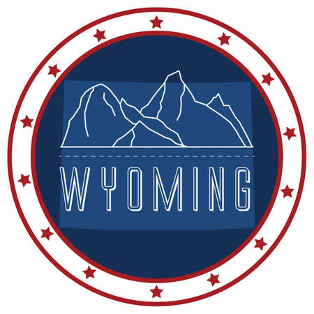wyoming: wyoming sticker