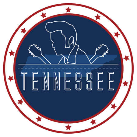 tennesse: pegatina Tennessee