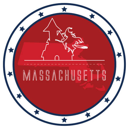 massachusetts: massachusetts sticker